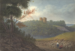 [Blaise Castle near Bristol and its countryside]